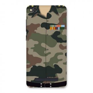 Army Uniform Back Case for Redmi 4A