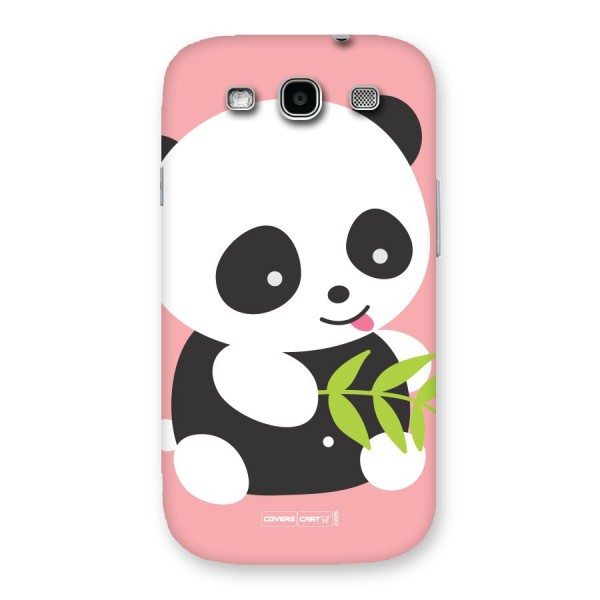 buy online 431e9 75053 Cute Panda Pink Back Case for Galaxy S3 Neo
