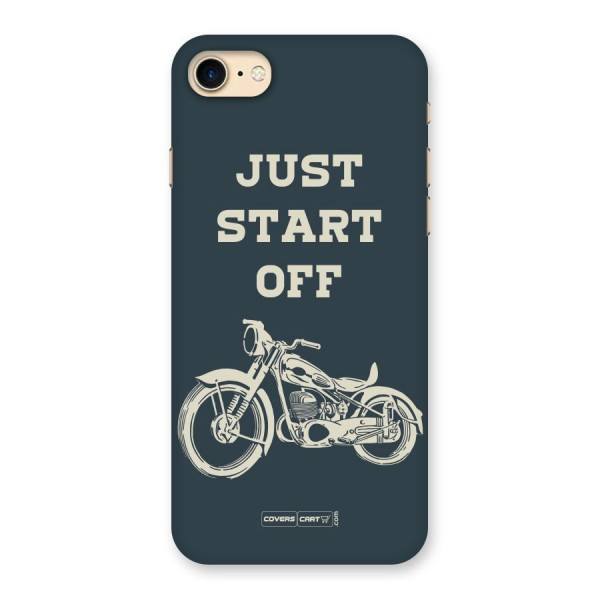 Just Start Off Back Case for iPhone 7