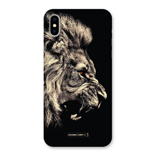 Roaring Lion Back Case for iPhone X