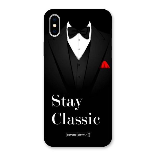 Stay Classic Back Case for iPhone X