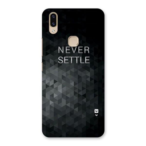 Abstract No Settle Back Case for Vivo V9 Youth