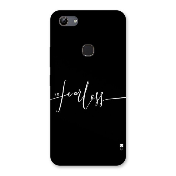 Always Be Fearless Back Case for Vivo Y81