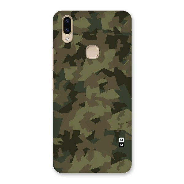 Army Abstract Back Case for Vivo V9 Youth