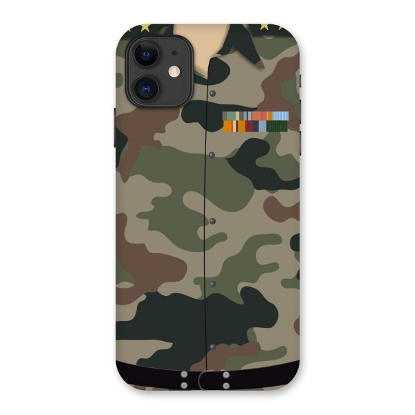 Army Uniform Back Case for iPhone 11