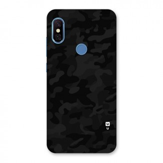 eec058fff Black Camouflage Back Case for Redmi Note 6 Pro