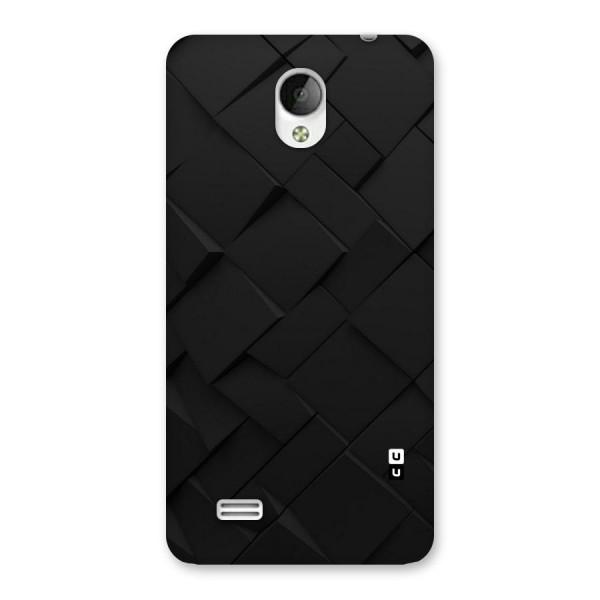 Black Elegant Design Back Case for Vivo Y21