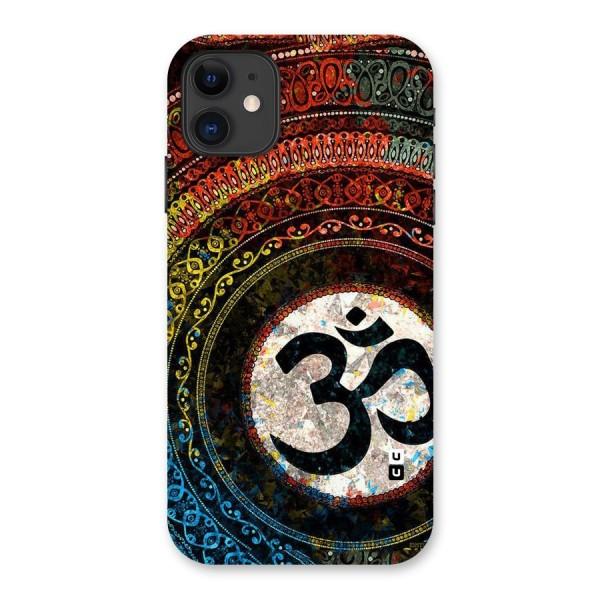 Culture Om Design Back Case for iPhone 11