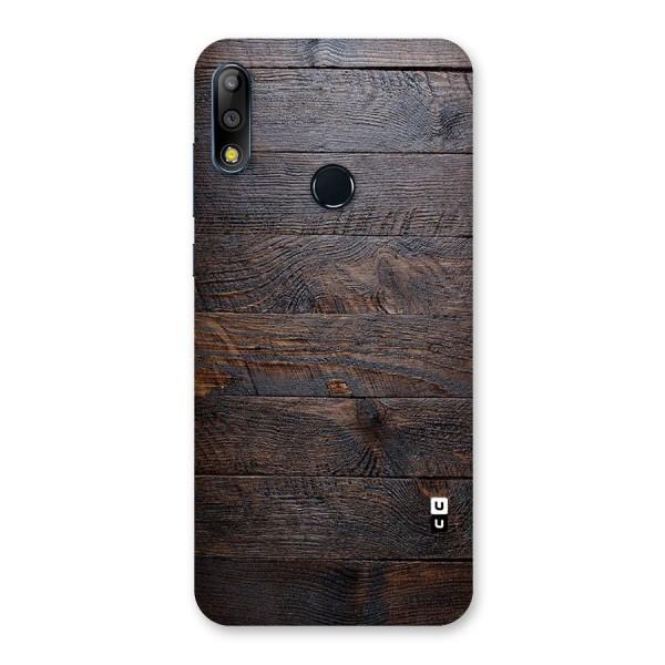 Dark Wood Printed Back Case for Zenfone Max Pro M2