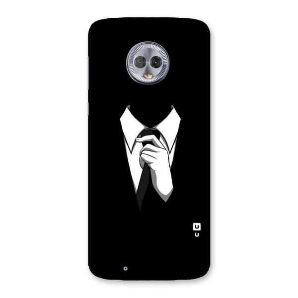 Faceless Gentleman Back Case for Moto G6