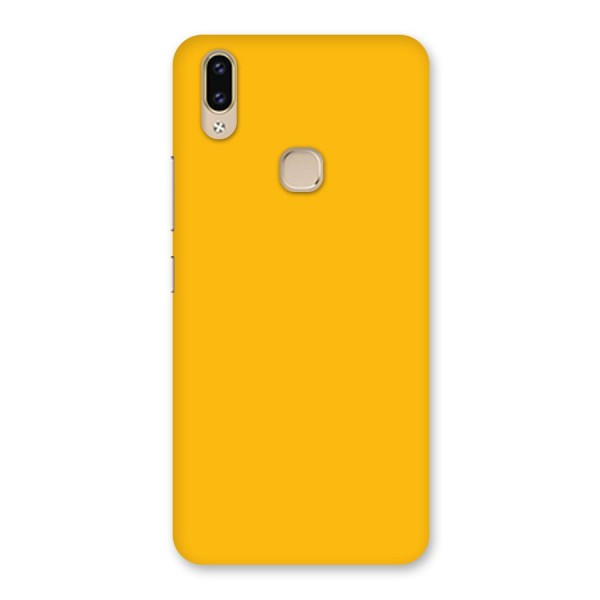 Gold Yellow Back Case for Vivo V9 Youth