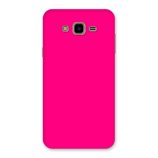 Hot Pink Back Case for Galaxy J7 Nxt