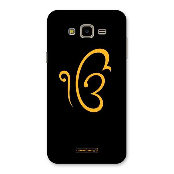Ik Onkar Back Case for Galaxy J7 Nxt