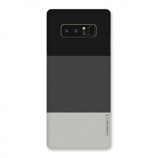 141fede1c28 Pastel Black and Grey Back Case for Galaxy Note 8