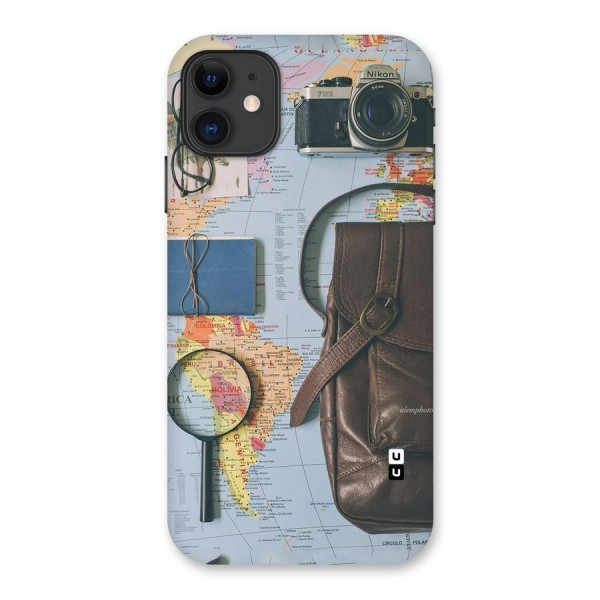 Travel Requisites Back Case for iPhone 11