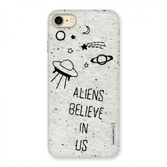 Aliens Believe In Us Back Case for iPhone 7
