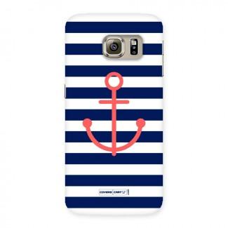 Anchor Stripes Back Case for Samsung Galaxy S6 Edge Plus