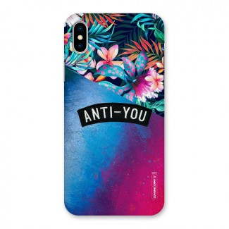 Anti You Back Case for iPhone X