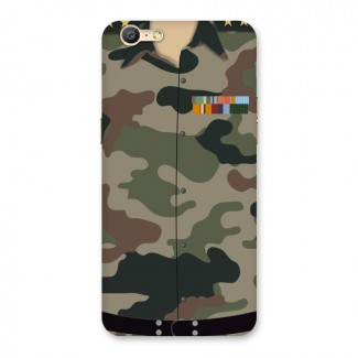 Army Uniform Back Case for Oppo A57