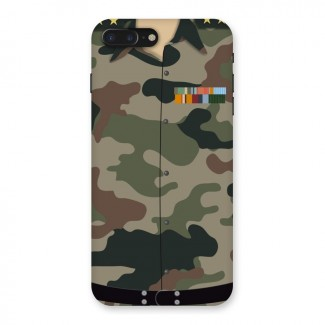 Army Uniform Back Case for iPhone 7 Plus
