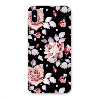 Artsy Floral Back Case for iPhone X