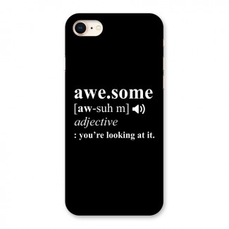 Awesome Looking at it Back Case for iPhone 8