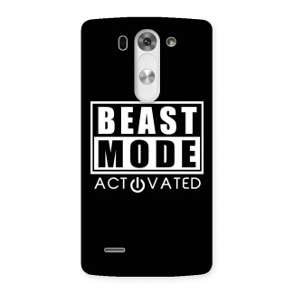 Beast Mode Activated Back Case for LG G3 Beat