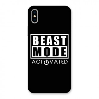 Beast Mode Activated Back Case for iPhone X