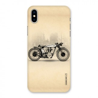 Bike Ride Back Case for iPhone X