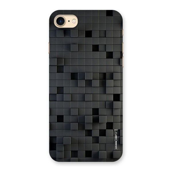 Black Bricks Back Case for iPhone 7