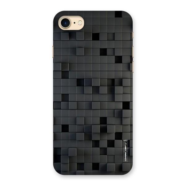 Black Bricks Back Case for iPhone 7
