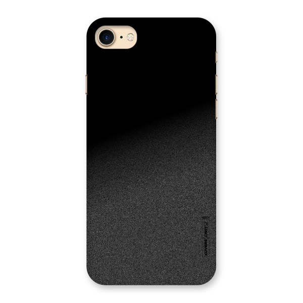 Black Grey Noise Fusion Back Case for iPhone 7