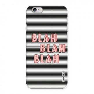 Blah Stripes Back Case for iPhone 6 6S