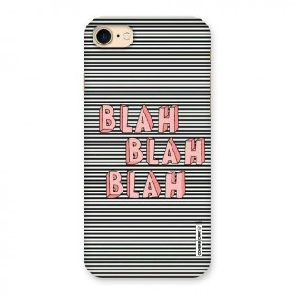 Blah Stripes Back Case for iPhone 7