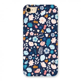 Blue Floral Back Case for iPhone 7