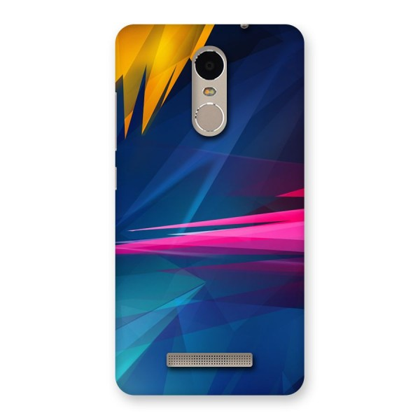 Blue Red Abstract Back Case for Xiaomi Redmi Note 3