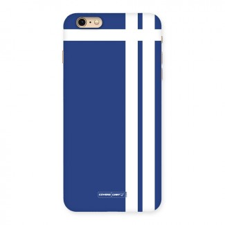 Blue and White Back Case for iPhone 6 Plus 6S Plus