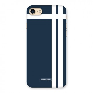 Blue and White Back Case for iPhone 7