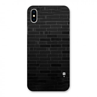 Brick Wall Back Case for iPhone X