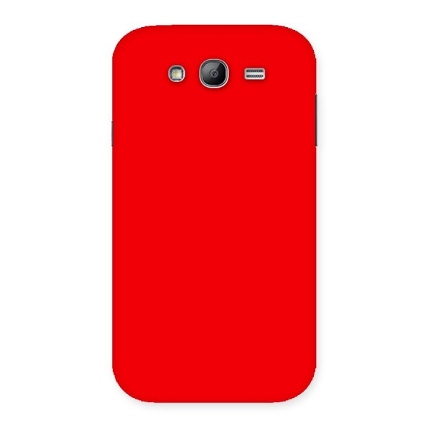 Bright Red Back Case for Galaxy Grand Neo Plus