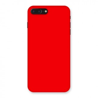 Bright Red Back Case for iPhone 7 Plus