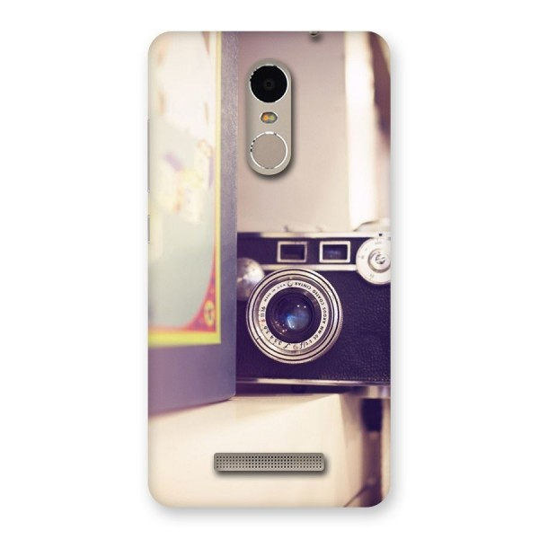 Camera Vintage Pastel Back Case for Xiaomi Redmi Note 3