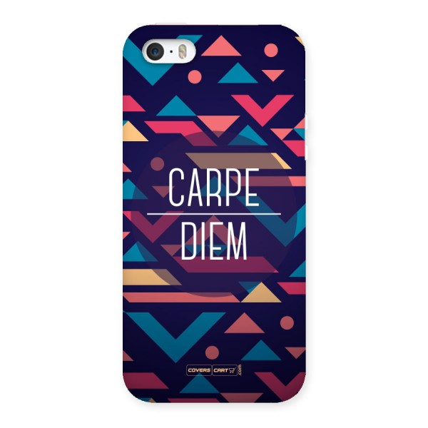 Carpe Diem Back Case for iPhone 5 5S