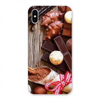 Chocolate Candies Back Case for iPhone X