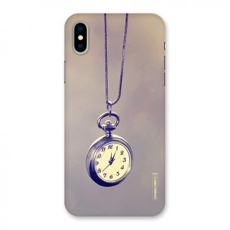 Clock Locket Back Case for iPhone X