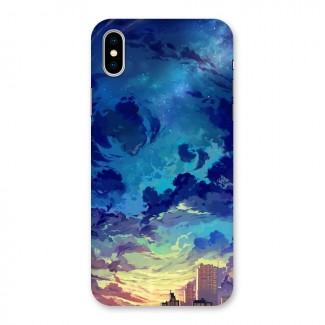 Cloud Art Back Case for iPhone X