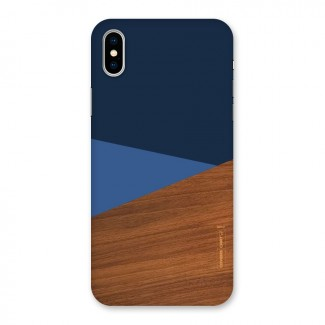 Crossed Lines Pattern Back Case for iPhone X