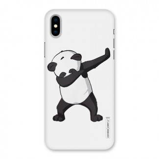 Dab Panda Shoot Back Case for iPhone X