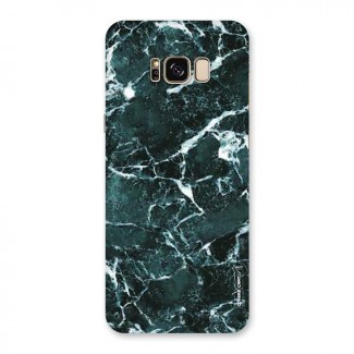 Dark Green Marble Back Case for Galaxy S8 Plus