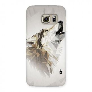 Diamond Wolf Back Case for Samsung Galaxy S6 Edge Plus
